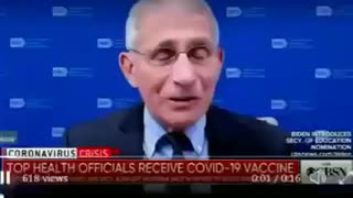 Anthony Fauci Vaccination Covid