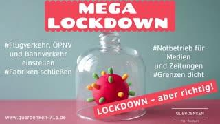 MEGA-Lockdown - Ohne Impfung aus der Pandemie (SHORT Version)