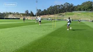 See extended coverage Celta Vigo in preseason training
