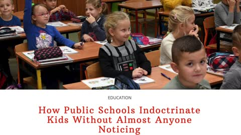 Indoctrination of our Children