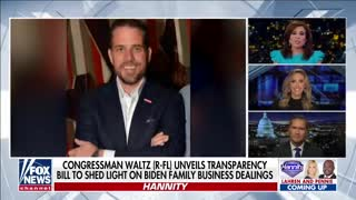 GOP lawmaker unveils bill to shed light on Biden family business dealings