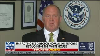 Homan--Border Czar announcement is premature