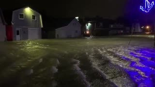Massive storm causes intense flooding in Ontario, Canada