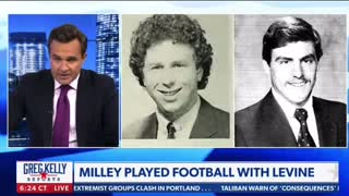 Milley played football with Levine-Coincidence