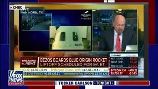 Tucker Carlson on Jeff Bezos rocket laugh