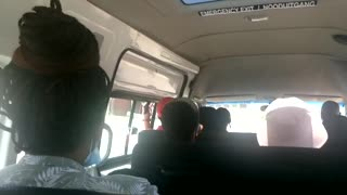 Minibus taxi drivers and passengers still not wearing masks