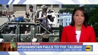 BIDEN RESPOND TO AFGANISTAN CRISIS