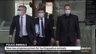 Australian news agency accidently shows satanic ritual