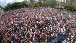 French Protests Against Vaccine Passports, Vaccine Mandates