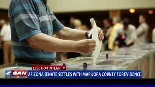 Ariz. Senate settles with Maricopa County for evidence