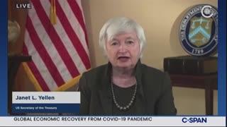 Biden Treasury Secretary Pushes GLOBAL Minimum Tax Rate
