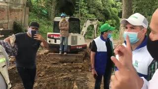 Cdmb inspecciona a esta hora las obras en los Cerros Orientales de Bucaramanga