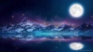 Relaxing Sleep Music and Night Nature Sounds Soft Crickets, Beautiful Piano, Deep Sleep Music