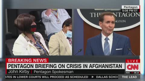 Reporter From Afghanistan Breaks Down In Tears, Forgets Her Question At Press Briefing