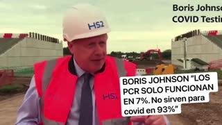 Boris Johnson PCR