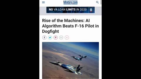 AI Defeats Fighter Pilot in 5/5 Engagements. DARPA is Bringing AI Systems to the Public. Yay.