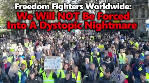 NO FORCED VACCINES! NO SEGREGATION! Worldwide Protests With Huge Rallies Across Italy, France & NYC