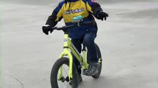 Joseph and his love of bikes