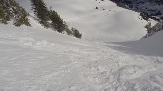 Skier rescue woman trapped beneath snow struggling for air