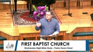 Wednesday Night Devotion - March 3, 2021