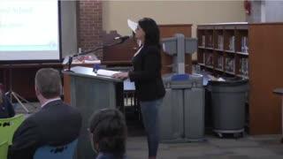 Parent destroys teachers School Board on kids learning critical race theory