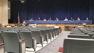 Pine Plains school board meeting 1
