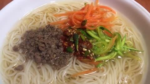 잔치국수, noodles