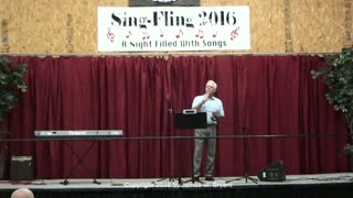 Special Song - I Believe He's Coming Back, by Paul Johnson, 2016