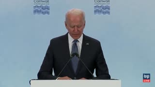 Biden's Brain Sputters Out as He Rambles Idiotically, Confuses Syria and Libya THREE TIMES
