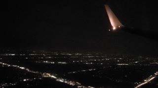 Night Flight Over Detroit