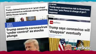 Mad dog Rachel Maddow wants to yank Trump off TV during coronavirus briefings