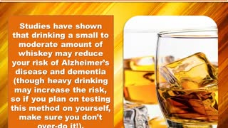 Health Benefits Of Whiskey