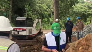 Cerraron obras en los Cerros Orientales de Bucaramanga