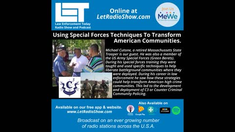 Using Special Forces Techniques To Transform American Communities.