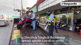 Agresión alférez Bucaramanga