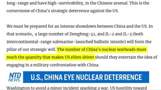 US, China Eye Nuclear Deterrence