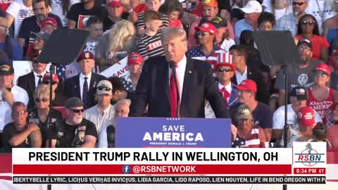 President Donald Trump Save America Rally Wellington, OH - 6/26/21
