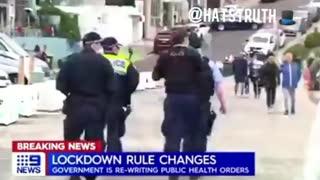 SO SAD: Australia Goes Full Police State Lockdown Dictatorship!