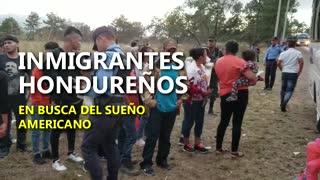 Caravana de migrantes hacia Estados Unidos