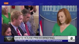Jen Psaki: 'We've increased disinformation research and tracking'