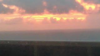 Sun Rise over Ocean
