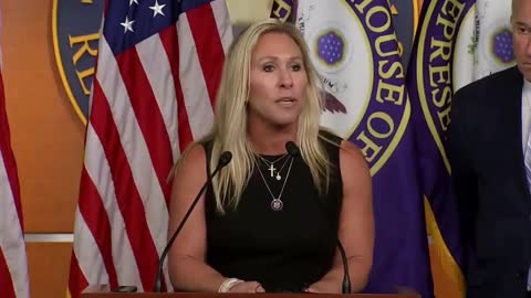 Rep. Marjorie Taylor Greene CONDEMNS Joe Biden's Failure to Secure the Southern Border
