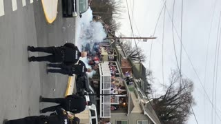 Police Attempt to Disperse WVU Student Riot