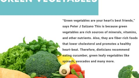 Peter J Salzano.: Heart-Healthy Foods That You Must Include In Your Diet