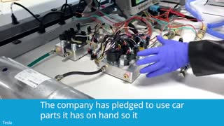 Tesla Video Shows How It Is Making Ventilators