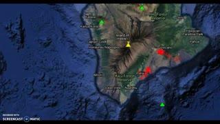 4.4 Earthquake Triggers Kilauea Eruption