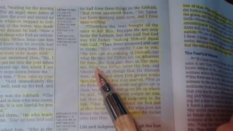 Honor the Father & Son - John 5:16-23 - Jarrin Jackson
