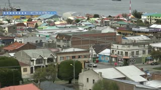 Punta Arenas City in Chile
