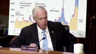 Senator Ron Johnson Grills DHS Secretary Mayorkas Over Border Crisis In Del Rio, Texas