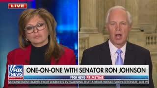 Maria Bartiromo and Sen. Ron Johnson Discuss His Capitol Riot Comments